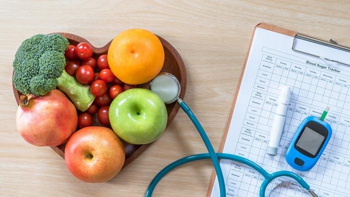Una dieta equilibrada en personas con diabetes